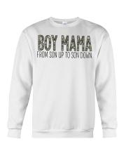 Boy Mama From Son Up To Son Down Crewneck Sweatshirt thumbnail
