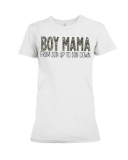 Boy Mama From Son Up To Son Down Premium Fit Ladies Tee thumbnail