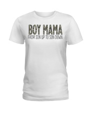 Boy Mama From Son Up To Son Down Ladies T-Shirt thumbnail