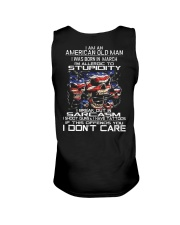American old man-stupidity-sarcasm-March Unisex Tank thumbnail