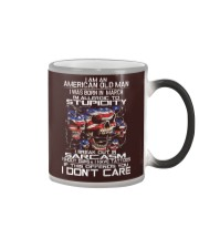 American old man-stupidity-sarcasm-March Color Changing Mug thumbnail