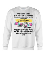Piece of our heart lots of love Crewneck Sweatshirt thumbnail