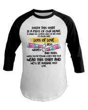 Piece of our heart lots of love Baseball Tee thumbnail