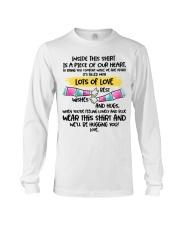 Piece of our heart lots of love Long Sleeve Tee thumbnail