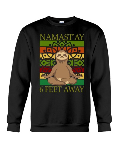 Namastay 6 Feet Away Sloth