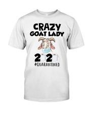 Crazy Goat Lady 2020 quarantined Premium Fit Mens Tee thumbnail