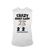 Crazy Goat Lady 2020 quarantined Sleeveless Tee thumbnail