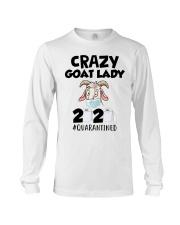 Crazy Goat Lady 2020 quarantined Long Sleeve Tee thumbnail