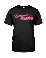 Audrey DeLuxe's Burlesque Bingo logo merch Premium Fit Mens Tee tile