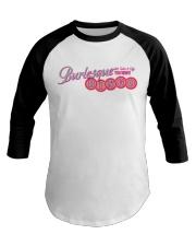 Audrey DeLuxe's Burlesque Bingo logo merch Baseball Tee thumbnail