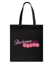 Audrey DeLuxe's Burlesque Bingo logo merch Tote Bag thumbnail
