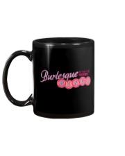 Audrey DeLuxe's Burlesque Bingo logo merch Mug back