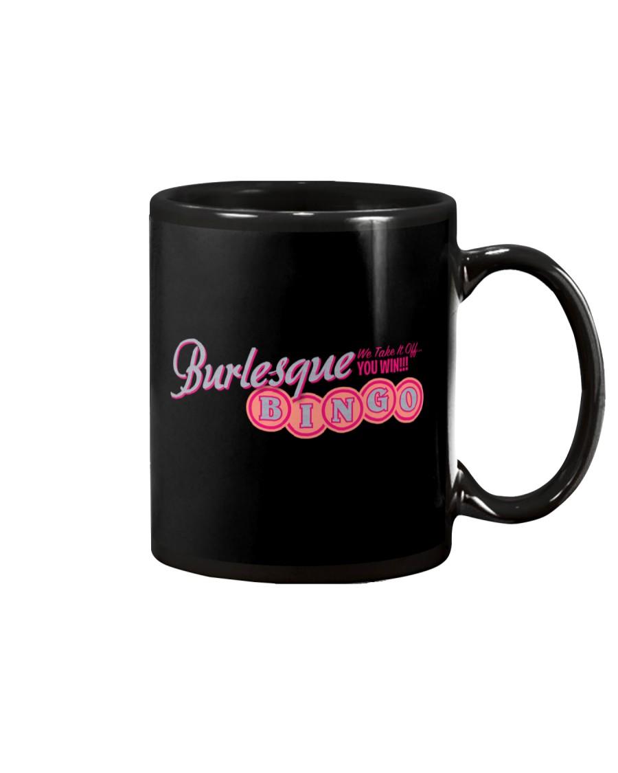 Audrey DeLuxe's Burlesque Bingo logo merch Mug