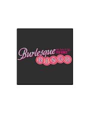 Audrey DeLuxe's Burlesque Bingo logo merch Square Magnet front