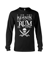 I am the reason why all the rum is gone Long Sleeve Tee thumbnail