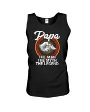 Papa The Man The Myth The Legend Unisex Tank tile