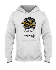 Mom Life Sunflower Hooded Sweatshirt tile