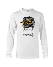 Mom Life Sunflower Long Sleeve Tee tile
