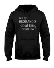 I Am Husband's Good Thing Proverbs 18:22 Hooded Sweatshirt tile