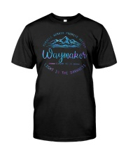 Miracle Worker Promise Keeper Waymaker Classic T-Shirt front
