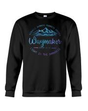 Miracle Worker Promise Keeper Waymaker Crewneck Sweatshirt tile