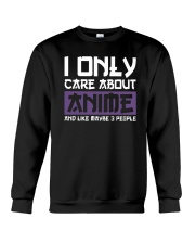 I Only Care About Anime And Like Maybe 3 People Crewneck Sweatshirt tile