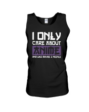 I Only Care About Anime And Like Maybe 3 People Unisex Tank tile