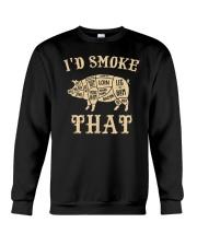 I'd Smoke That Pig BBQ Crewneck Sweatshirt tile