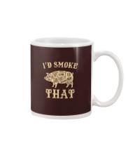 I'd Smoke That Pig BBQ Mug tile