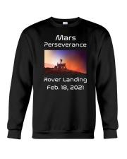 Mars Perseverance Rover Landing Feb 18 2021 Crewneck Sweatshirt tile