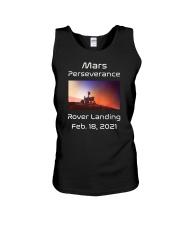 Mars Perseverance Rover Landing Feb 18 2021 Unisex Tank tile