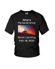 Mars Perseverance Rover Landing Feb 18 2021 Youth T-Shirt tile