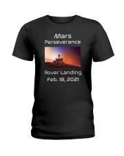 Mars Perseverance Rover Landing Feb 18 2021 Ladies T-Shirt tile