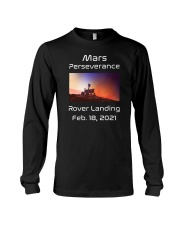 Mars Perseverance Rover Landing Feb 18 2021 Long Sleeve Tee tile