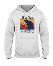 It's Fine I'm Fine Everything Is Fine Hooded Sweatshirt tile
