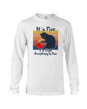 It's Fine I'm Fine Everything Is Fine Long Sleeve Tee tile