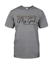 Way Maker Miracle Worker Christian Classic T-Shirt front
