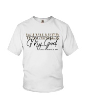 Way Maker Miracle Worker Christian Youth T-Shirt tile