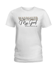 Way Maker Miracle Worker Christian Ladies T-Shirt tile