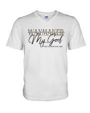 Way Maker Miracle Worker Christian V-Neck T-Shirt tile