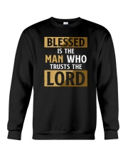 Blessed Is The Man Who Trusts The Lord Crewneck Sweatshirt tile