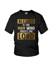 Blessed Is The Man Who Trusts The Lord Youth T-Shirt tile