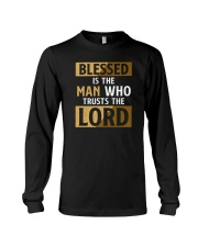 Blessed Is The Man Who Trusts The Lord Long Sleeve Tee tile
