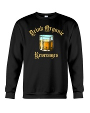 Drink Organic Beverages Crewneck Sweatshirt tile