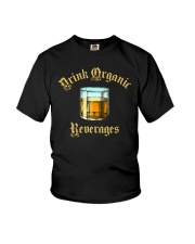 Drink Organic Beverages Youth T-Shirt tile
