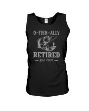 O-Fish-Ally Retired Est 2021 Unisex Tank tile