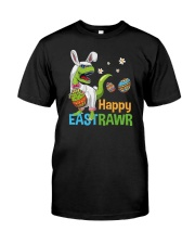 Happy Eastrawr T-Rex Classic T-Shirt front