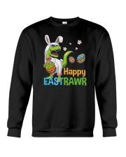Happy Eastrawr T-Rex Crewneck Sweatshirt tile