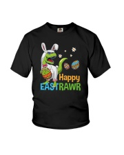 Happy Eastrawr T-Rex Youth T-Shirt tile