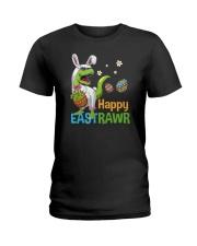 Happy Eastrawr T-Rex Ladies T-Shirt tile
